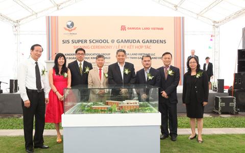 Xây Trường liên cấp Quốc tế Singapore tại Gamuda City