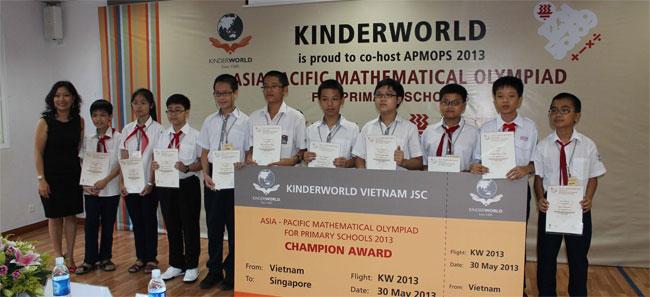 Trao Giải Olympic Toán học Châu Á – Thái Bình Dương 2013