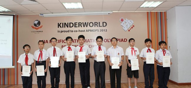 APMOPS Award Ceremony 2012